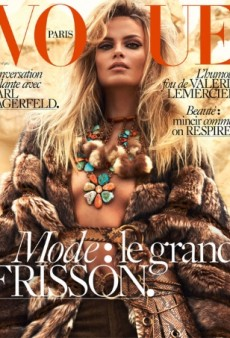 Natasha Poly Scores Her 50th Vogue Cover for Vogue Paris' September Issue (Forum Buzz)