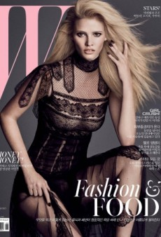 Lara Stone Smolders on W Korea's September Covers (Forum Buzz)