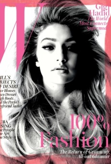 Gigi Hadid Works the Lens of Steven Meisel for W's September Cover (Forum Buzz)