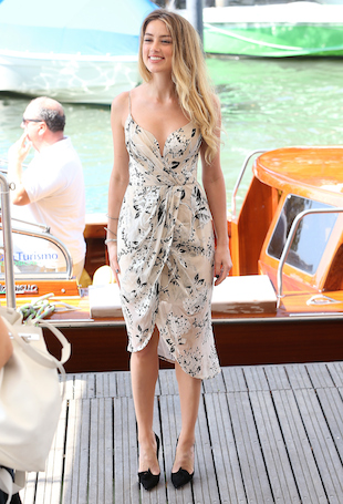 Celebrity Sightings - Day 4 - 72nd Venice Film Festival