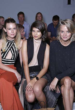Front Row at Fashion Palette