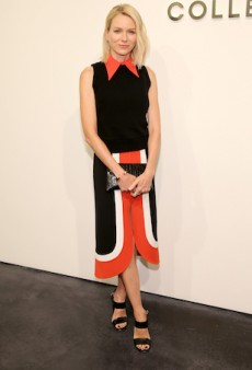 Naomi Watts Makes a Strong Statement By Colourblocking In Michael Kors at NYFW