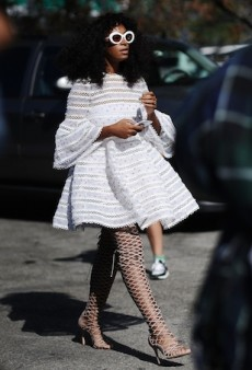 Solange Knowles Already Has Her Hands On Zimmermann's Spring 2016 Collection