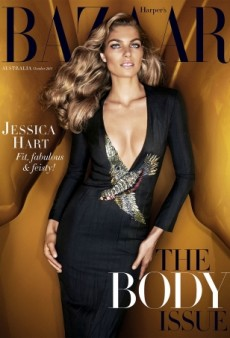 Jessica Hart Covers The Body Issue for Harper's Bazaar Australia (Forum Buzz)