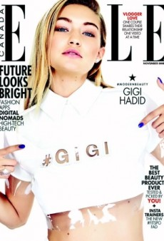 Gigi Hadid Lands ELLE Canada's November 2015 Cover (Forum Buzz)