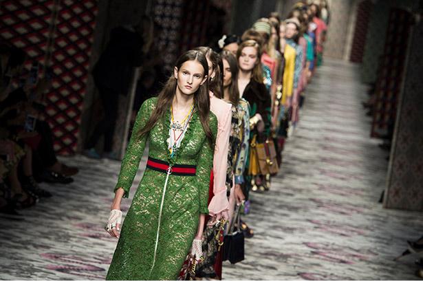 Gucci Spring 2016 runway