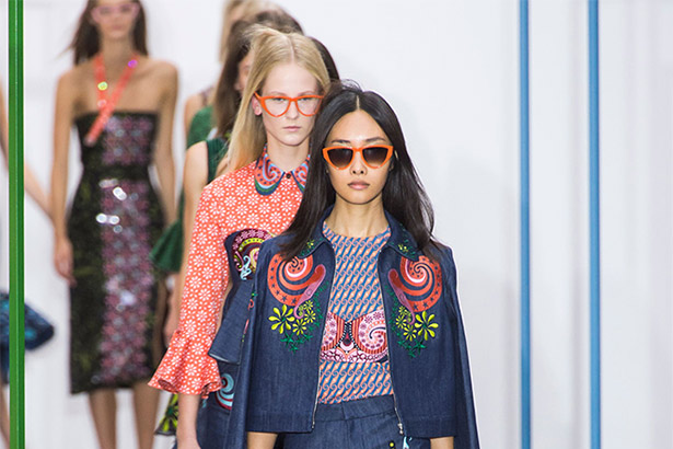 Holly Fulton Spring 2016 runway