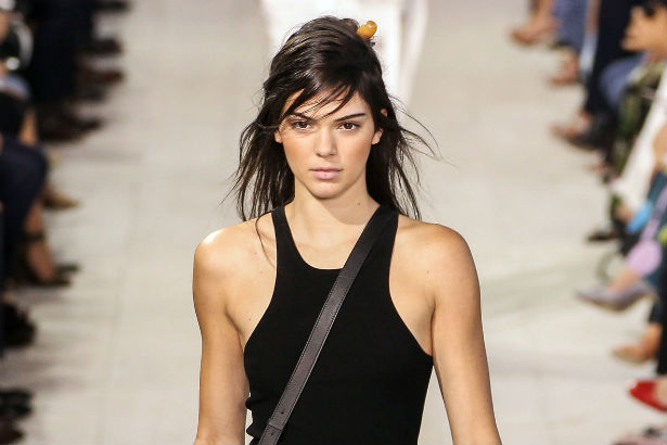 Kendall Jenner walks the Michael Kors Spring 2016 runway at #NYFW