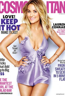 Alice McCALL Wins Majorly on Cosmpolitan US' October 2015 Cover
