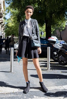 92 of the Best Model Off Duty Snaps from Outside Milan Fashion Week