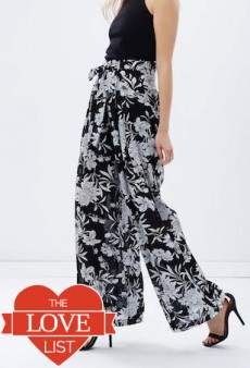 Palazzo Pants for Spring: The Love List