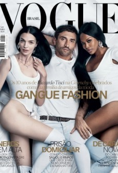 In Bed with Naomi Campbell, Mariacarla Boscono and Riccardo Tisci on Vogue Brazil (Forum Buzz)