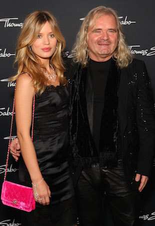 Thomas Sabo and Georgia May Jagger
