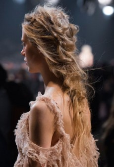 Hair Stitching Is the Latest Beauty Technique to Come from Paris Fashion Week