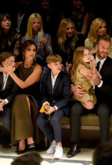12 Times the Beckham Family Ruled Fashion