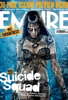 Cara Delevingne Shows Off Her 'Suicide Squad' Look on the Cover of Empire Magazine