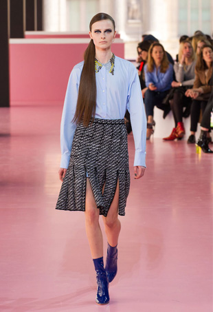 How to Wear a Car Wash Skirt for Fall 2015