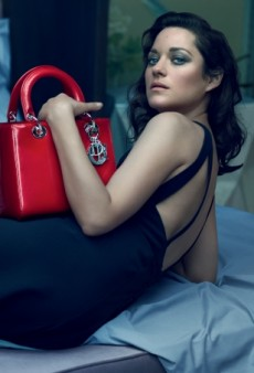 In Bed with Marion Cotillard for Christian Dior's New Handbag Campaign (Forum Buzz)