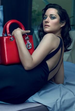 Christian Dior 'Lady Dior' Handbags F/W 2015.16 : Marion Cotillard by Mert & Marcus