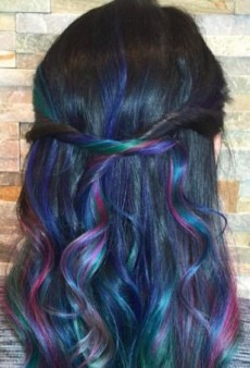 How to Get the Galaxy Hair Color Trend That's Taking Over the Internet