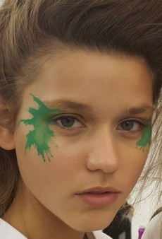 The Makeup Application at Issey Miyake Spring 2016 May Change Your Life