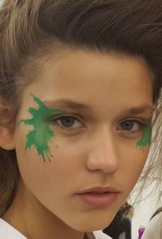 The Makeup Application at Issey Miyake Spring 2016 May Change Your Life