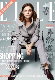 Carey Mulligan Wears a Pantsuit on UK ELLE's Feminism Issue (Forum Buzz)