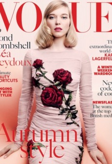 Where's the Drama on Léa Seydoux's UK Vogue Cover? (Forum Buzz)