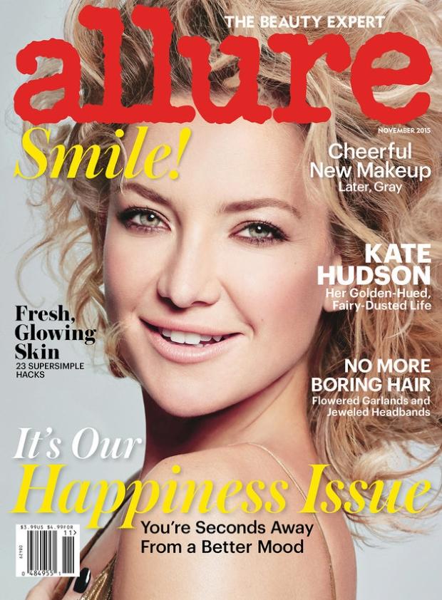US Allure November 2015 Kate Hudson by Tom Munro