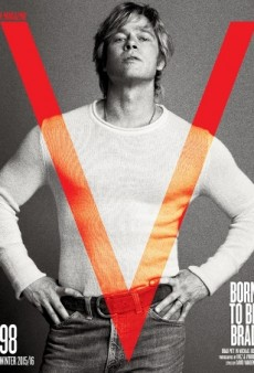 Brad Pitt Transforms Into Robert Redford on V Magazine's Winter 2015 Cover (Forum Buzz)