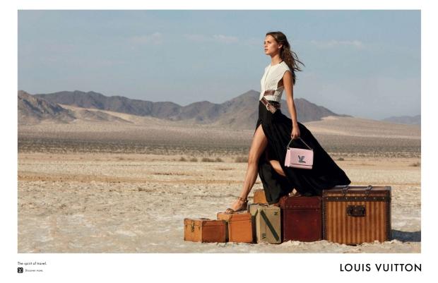 Louis Vuitton 'Spirit of Travel' F/W 2015.16 by Patrick Demarchelier