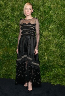 What They Wore: Cate Blanchett's Honorary Benefit