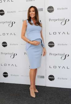 Remembering Kyly Clarke's On-Point Maternity Style