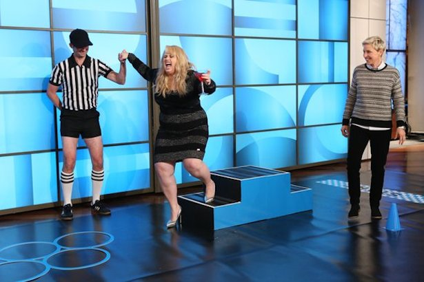 Rebel Wilson on Ellen