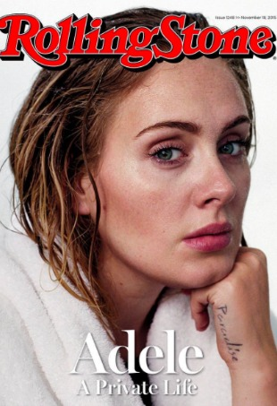 Adele Rolling Stone Cover