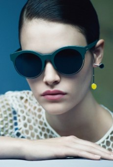 Christian Dior's Eyewear Campaign Appears to Forecast the Future (Forum Buzz)