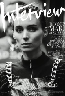 Best or Worst Cover of 2015? Rooney Mara Stars on Interview's November Issue (Forum Buzz)