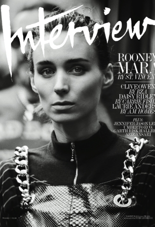 Interview November 2015 Rooney Mara by Peter Lindbergh