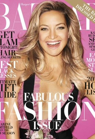 US Harper's Bazaar December 2015/January 2016 : Kate Hudson by Terry Richardson