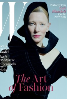 Cate Blanchett's Holiday Cover for W Magazine Leaves Us Cold (Forum Buzz)