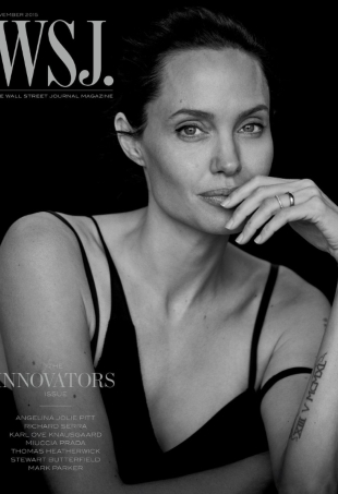 WSJ Magazine November 2015 : Angelina Jolie by Peter Lindbergh