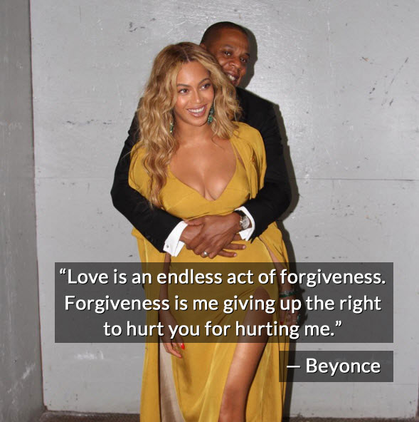 Beyonce and Jay Z relationship quote