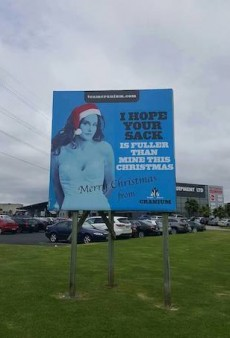 NZ Company Angers Transgender Community with 'Insulting' Caitlyn Jenner Christmas Billboard