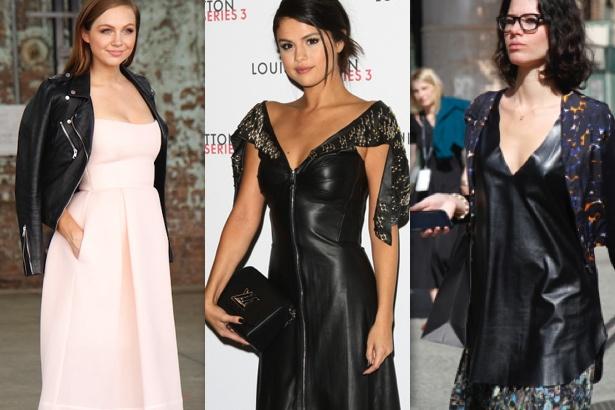 Ksenija Lukich, Selena Gomez and street style shot