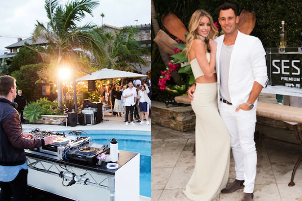 Jennifer Hawkins and Jake Wall launch Sesion Tequila
