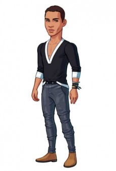 Olivier Rousteing Joins Kim Kardashian's Mobile Game but Still No Saint West