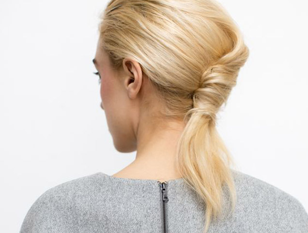 20 Super Easy Updos for Beginners - theFashionSpot