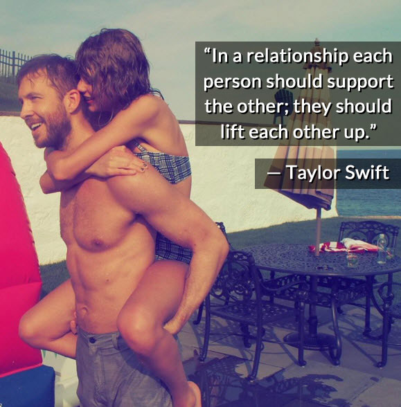 Taylor Swift relationship quote