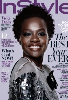 Viola Davis Is All Smiles on InStyle's Refreshing January Cover (Forum Buzz)