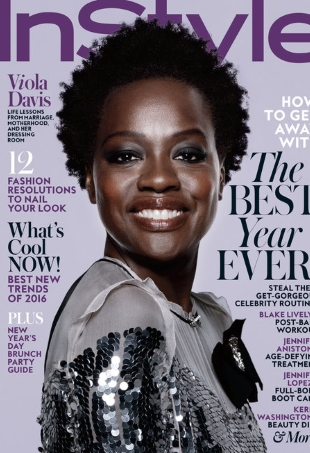 US InStyle January 2016 Viola Davis by Jan Welters